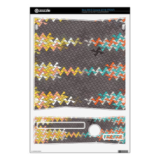 Shapes Decal For Xbox 360 S