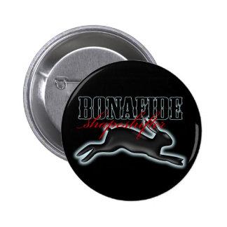 Shapeshifter-Conejo auténtico Pin Redondo De 2 Pulgadas