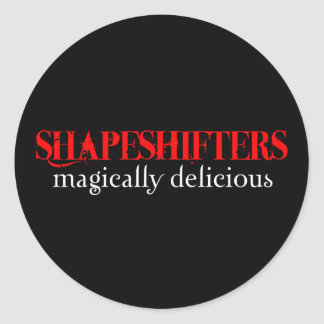 Shapeshifters Stickers