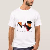 Shapy Sortsy Abstract T-Shirt