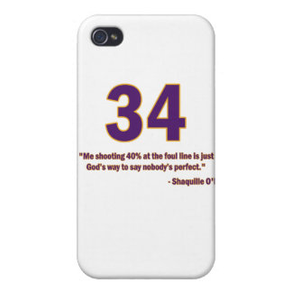 Shaquille O'Neal Quote Case
