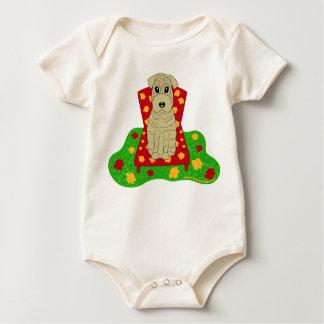 Shar Pei Baby Bodysuit