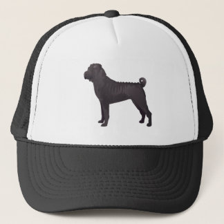 Shar Pei Basic Design Templates Trucker Hat