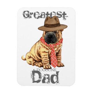 Shar-Pei Dad Magnet