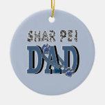 Shar Pei DAD Ornament