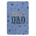 Shar Pei DAD Rectangle Magnets