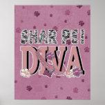 Shar Pei DIVA Poster