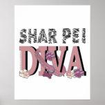 Shar Pei DIVA Print