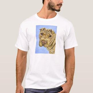 Shar Pei Dog Art - Aspen T-Shirt