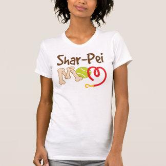 Shar Pei Dog Breed Mom Gift Tee Shirt