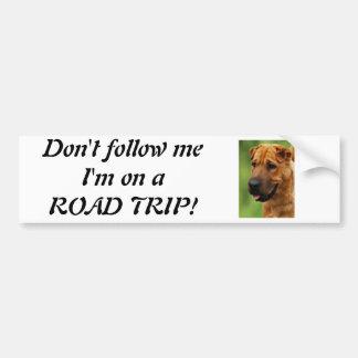 Shar Pei Dog Bumper Sticker