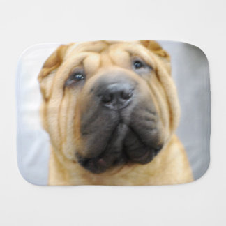 Shar-Pei Dog Burp Cloth