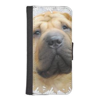 Shar Pei Dog iPhone SE/5/5s Wallet