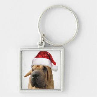 Shar Pei dog Keychain