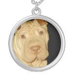 Shar Pei Dog Necklace