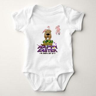 Shar-Pei Happy Easter Baby Bodysuit