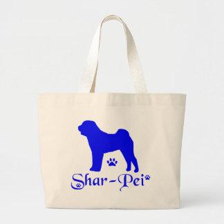 SHAR PEI LARGE TOTE BAG