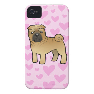 Shar Pei Love Case-Mate iPhone 4 Case