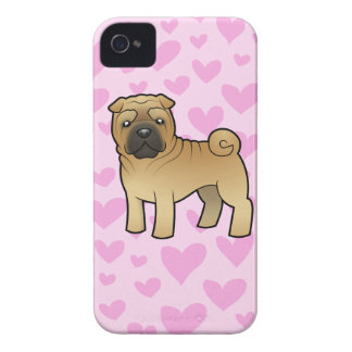 Shar Pei Love iPhone 4 Case