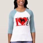 SHAR PEI LOVE T-SHIRT