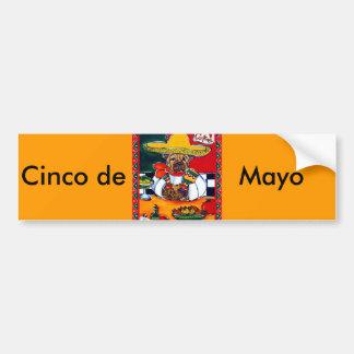 Shar-Pei Mexico Chef Bumper Stickers
