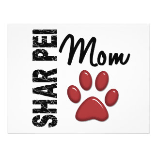 Shar Pei Mom 2 Flyers