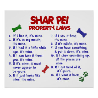 SHAR PEI PL2 POSTER
