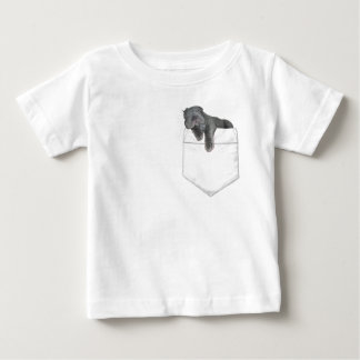 Shar pei puppy In Your Pocket Baby T-Shirt
