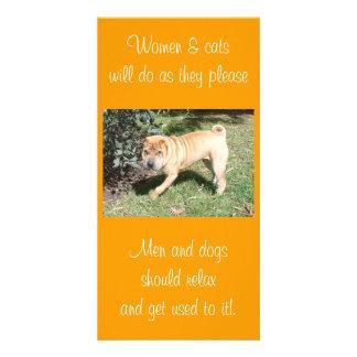 Shar Pei Rescue Blank CArd Photo Card
