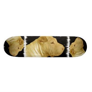 Shar Pei Skateboard