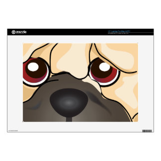 """Shar Pei Decal For 15"""" Laptop"""