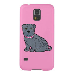 Case-Mate Barely There Samsung Galaxy S5 Case with Shar-Pei Phone Cases design