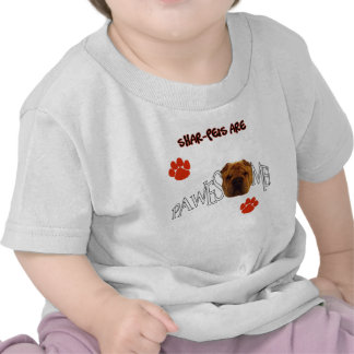Shar-Peis are Pawesome Awesome Tee Shirts