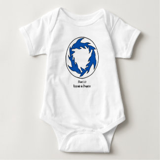 Sharc Pit 2.0 for babies Baby Bodysuit