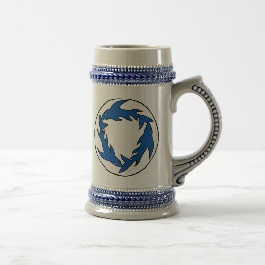 Sharc twin badge mug