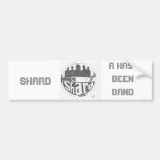 Shard Logo Car Bumper Sticker
