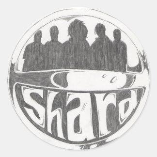 Shard Logo Classic Round Sticker