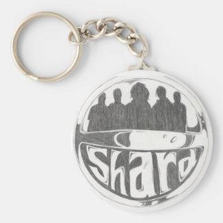 Shard Logo Keychain