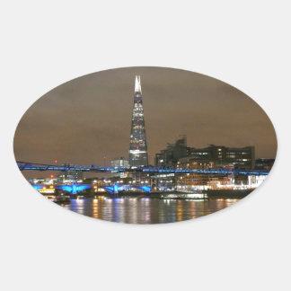 Shard - London Super! Oval Sticker