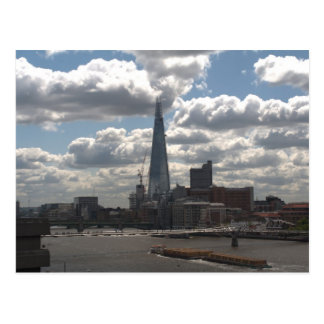 Shard of glass postcard