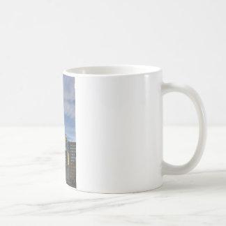 Shard white mug