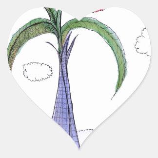 ShardArt 2 by Tony Fernandes Heart Sticker