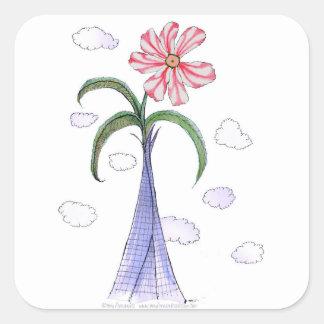 ShardArt 2 by Tony Fernandes Square Sticker
