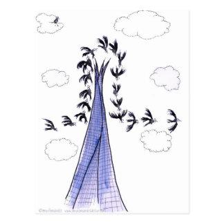 ShardArt 4 by Tony Fernandes Postcard