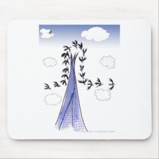 ShardArt Blue Skies by Tony Fernandes Mouse Pad