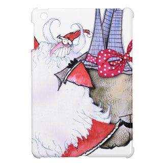 ShardArt Fat Santa by Tony Fernandes iPad Mini Cases