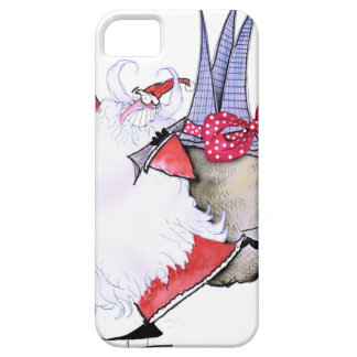 ShardArt Fat Santa by Tony Fernandes iPhone SE/5/5s Case
