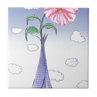 ShardArt Flower Power by Tony Fernandes Tile
