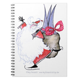 ShardArt Seasons Greetings by Tony Fernandes Notebook