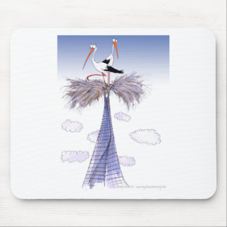 ShardArt Unwelcome Visitors by Tony Fernandes Mouse Pad